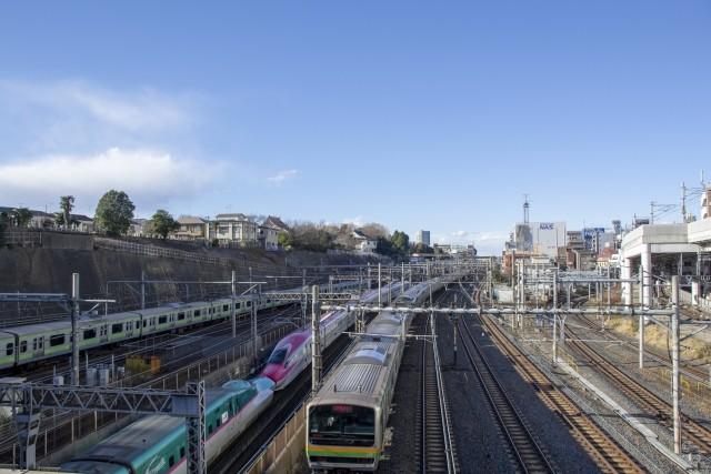 下御隠殿橋(トレインミュージアム)からの風景