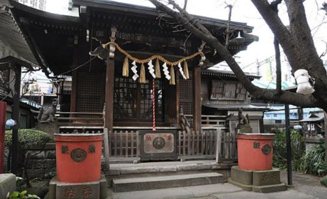 柳森神社本殿