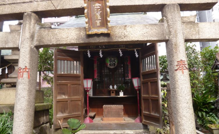 金刀比羅(ことひら)神社 柳森神社